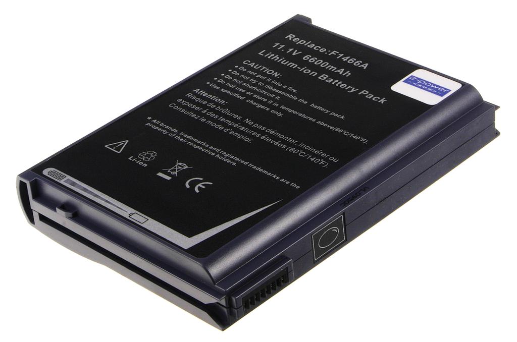 Laptop accu F1466A voor o.a. HP OmniBook 4100/4150 Series - 6600mAh