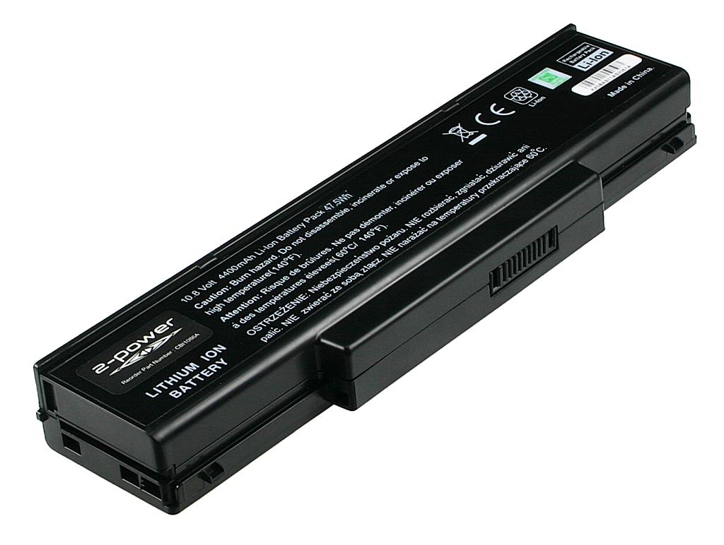 Laptop accu CBI1086A voor o.a. Asus A9 - 4400mAh