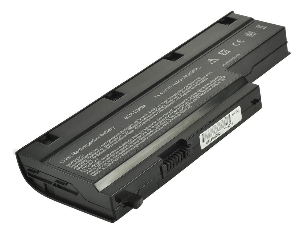 Laptop accu BTP-D4BM voor o.a. Medion Akoya MD97860 - 4400mAh