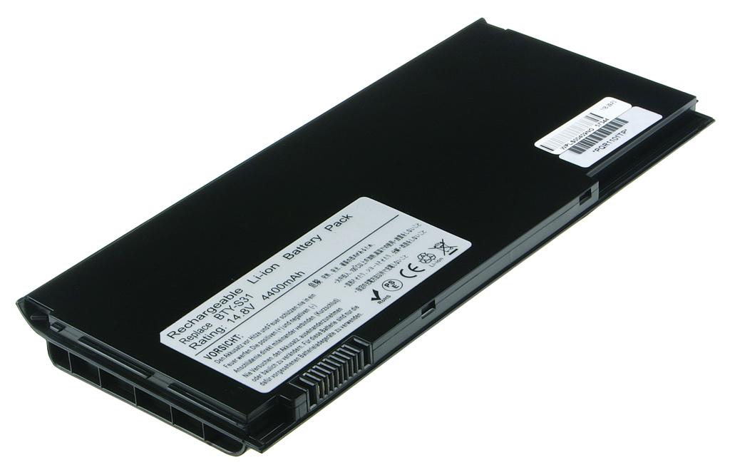 Laptop accu BTY-S31 voor o.a. MSI BTY-S31 (Black) - 4400mAh
